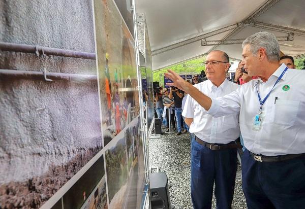Sabesp impede nova crise hídrica com entrega de obra