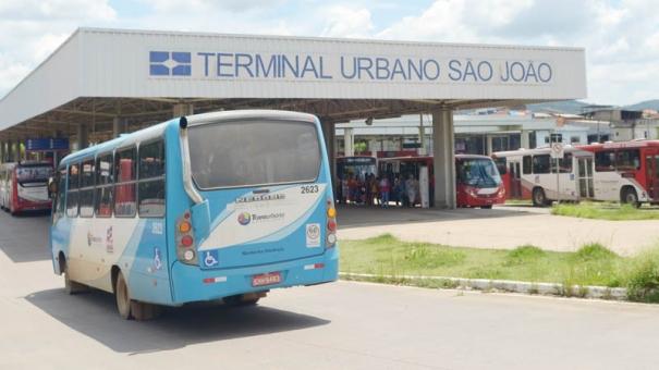 Mais de 86,4 mil passageiros circulam diariamente pelo Terminal São João