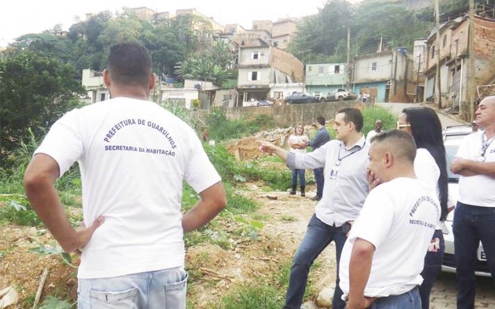 Habitação inicia cadastramento de áreas de risco