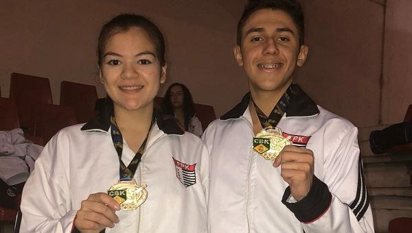Guarulhos conquista 12 medalhas no Brasileiro de Karatê