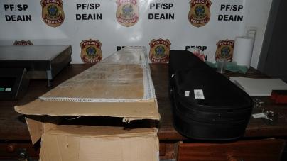 Polícia Federal apreende cerca de 50 kg de drogas e prende três pessoas