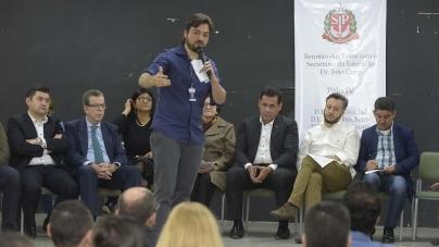 Secretário estadual de Educação participa de Encontro de Polos em Guarulhos
