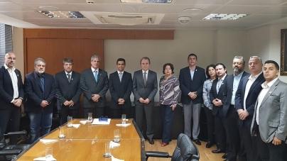 Dirigentes da Proguaru participam de reunião do TCESP