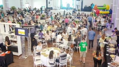Aniversário de 55 anos da ACE é celebrado com almoço para 350 pessoas