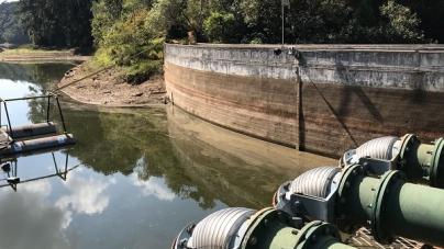 Longo período de estiagem já ameaça nível da represa do Cabuçu