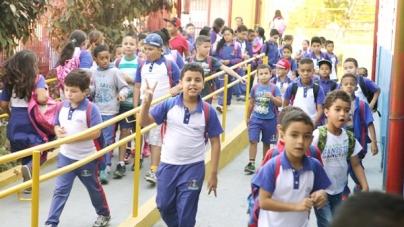 Mais de 116 mil alunos da rede municipal retornam às aulas na segunda