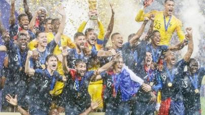 Bicampeã! França supera Croácia na final e fatura seu segundo título de Copa do Mundo