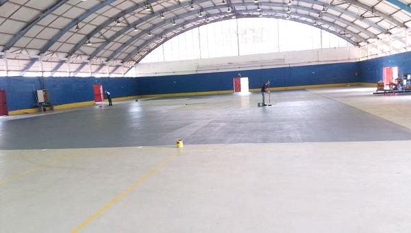 Prefeitura entrega ginásio Fioravante Iervolino revitalizado no próximo dia 14