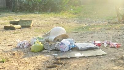 Prefeitura transformará mais dois pontos viciados de descarte irregular em área de lazer