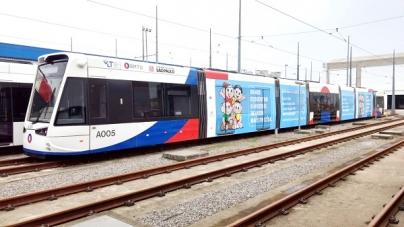 Turma da Mônica estampa vagões do metrô e VLT para divulgar a Campanha do Agasalho 2018