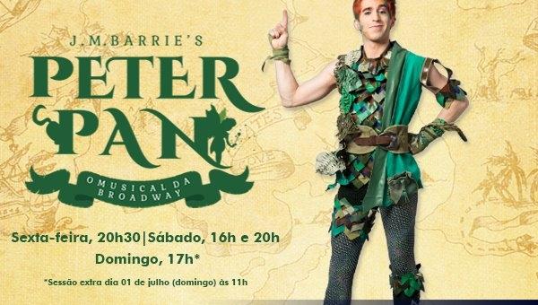'Peter Pan, o musical' encerra temporada em São Paulo na próxima semana
