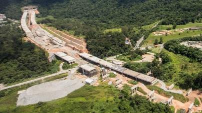 Obras do Rodoanel Norte atingem 84% de conclusão