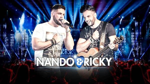 Dupla Nando e Ricky se apresenta em Guarulhos neste fim de semana