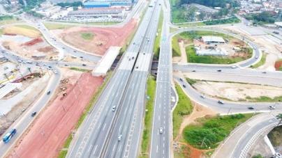 Prefeitura segue com melhorias no pavimento do Trevo de Bonsucesso