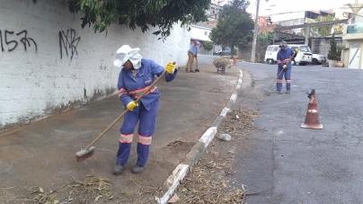 Praça no Jardim das Nações recebe serviços de zeladoria da Proguaru