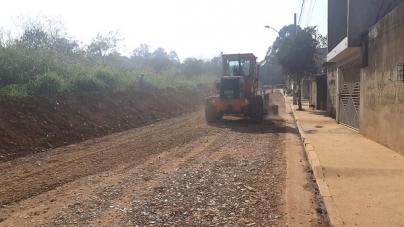 Proguaru realiza manutenção qualificada na rua Particular no Ponte Alta