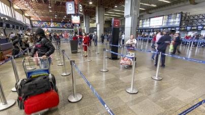 Protesto na Argentina afeta voos no aeroporto de Guarulhos