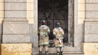 Corpo de Bombeiros do Rio informa que Museu Nacional estava irregular