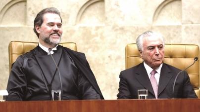 Temer embarca para Nova York, Toffoli assume presidência interinamente