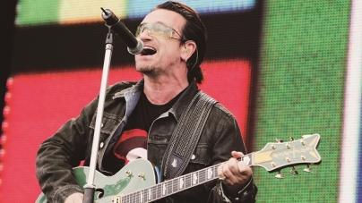 Bono, vocalista do U2, tem perda total de voz durante show em Berlim