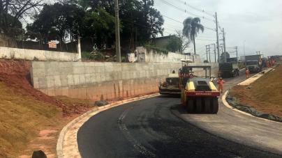 Nova alça de acesso do Trevo de Bonsucesso será entregue nos próximos dias