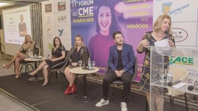 Fórum da Mulher Empreendedora lota auditório no Slaviero com talk show