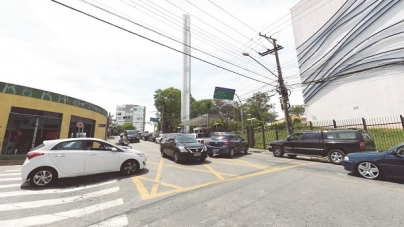 Prefeitura inicia experiência de alteração de mão em trecho crítico da avenida Emílio Ribas na terça-feira