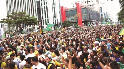 Militantes e candidatos pró-Bolsonaro realizam atos em diversos estados