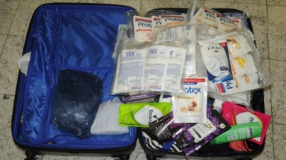 Polícia Federal prende passageiro com cocaína em refis de sabonete líquido