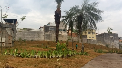 Prefeitura transforma área de descarte irregular em espaço de lazer