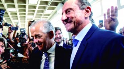 França faz campanha ao lado de Skaf e diz que não vota no PT