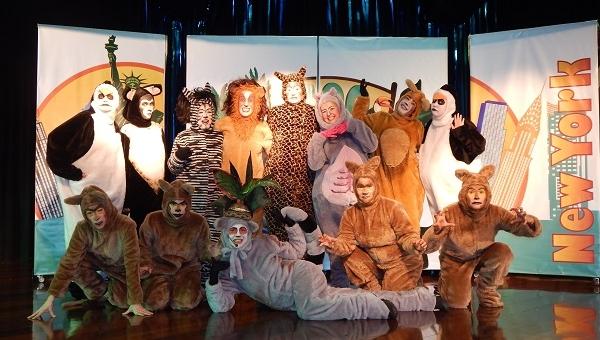 Temporada gratuita do espetáculo Madagascar estreia sábado, no Teatro do CEU Ponte Alta