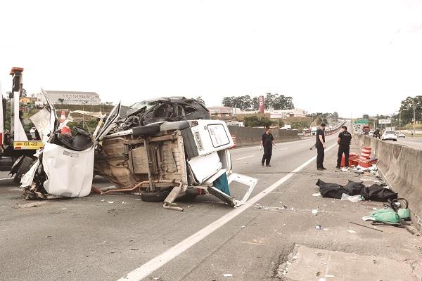 Desobediência às leis de trânsito já é a segunda maior causa de acidentes do país nas rodovias federais