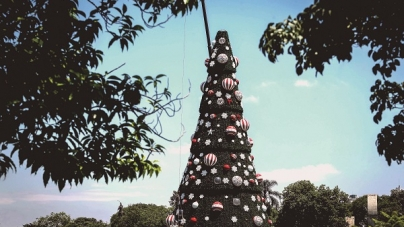 Com elementos hi-tech, árvore de Natal do Ibirapuera será inaugurada sábado
