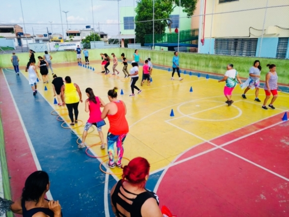 Movimenta Saúde de novembro estreia com aula de circuito funcional no CEU Bambi