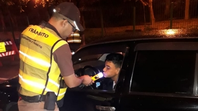 Quarta edição da Blitz da Lei Seca apreende 52 CNH e fiscaliza 1.136 motoristas