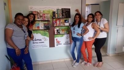 UBS Santa Paula ganha espaço de leitura