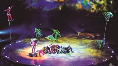 Cirque du Soleil traz ao Brasil 'OVO', o espetáculo dirigido por Deborah Colker