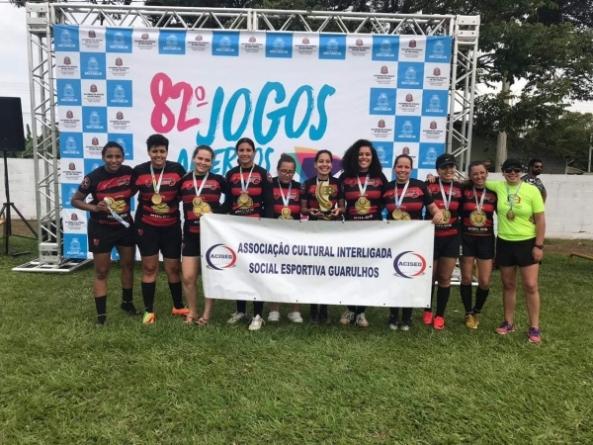 Basquete feminino de Guarulhos fatura bronze nos Jogos Abertos