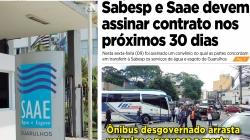 Sabesp e Saae devem assinar contrato nos próximos 30 dias