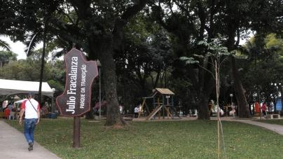 Parque Fracalanza é opção para passeio em Vila Augusta