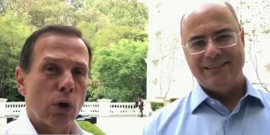 Governadores discutem integração entre São Paulo e Rio