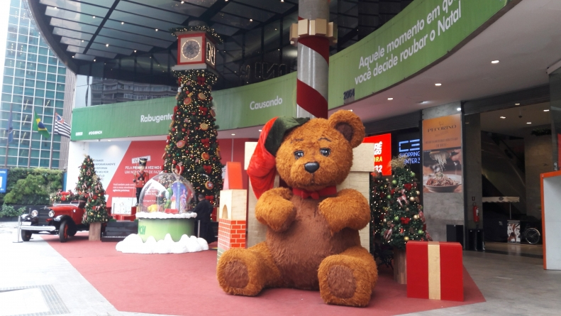 Shopping Center 3 traz natal dos brinquedos gigantes