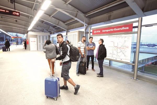 Linha Jade recebe 7 mil passageiros por dia entre estações Engenheiro Goulart e Aeroporto Guarulhos