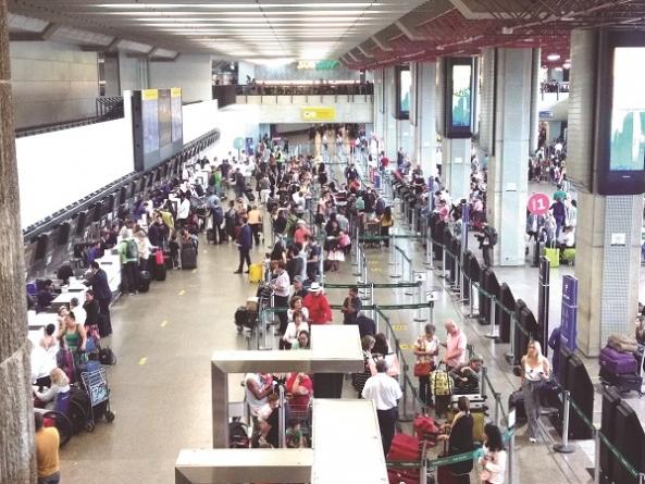 Aeroporto de Cumbica registra cinco dias consecutivos de atrasos em voos