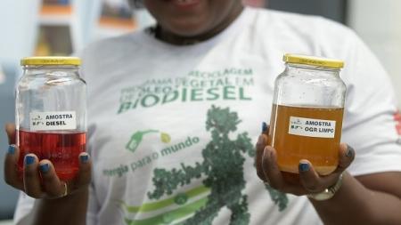Projeto permite produção de biodiesel e sabão ecológico a partir de óleos e gorduras residuais
