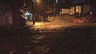 Guarulhos registra mais que o dobro esperado de chuvas no final de semana