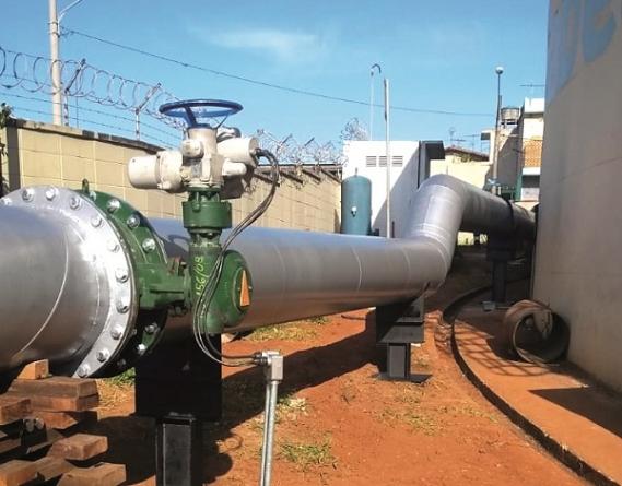 Sabesp entrega as primeiras obras para fim do rodízio de água em Guarulhos