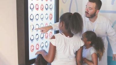 Carreta da Sabesp leva realidade virtual e educação ambiental