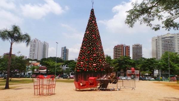 Cidade inaugura decoração de Natal no sábado